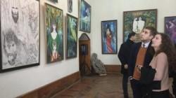 Sohum'da Givi Smır sergisi açıldı