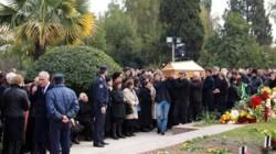 Abhaz askerleri Şeref Parkına defnedildi