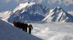 Çerkesya vadilerinde kış yürüyüşü