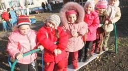 Maykop'ta anaokulu sırası bekleyen kalmadı