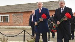 Abhazya devlet başkanı Adıgey'i ziyaret etti