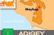 Adıgey'de dolu büyük hasara yol açtı