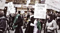 Soçi'de protesto için özel alanlar ayrılacak