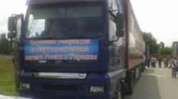 Çeçenyadan Ukraynalı mültecilere yardım konvoyu