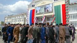 Çeçenya'da Kunta Hacı'nın müritlerinin mezarlığı onarıldı