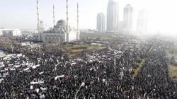 """Çeçenya'da """"karikatür"""" karşıtı eylem"""