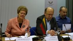 Litvanya Parlamentosunda Çeçen konferansı