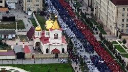 Kadirov Putin'i 2014 havai fişekle selamladı