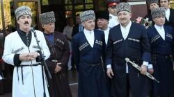 Dağıstan'da Anayasa Günü çerkeskalarla kutlandı