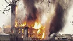 Dağıstan Kizlar'da merkez cami yandı