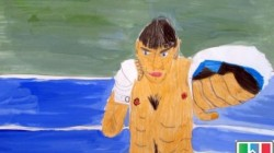 Dağıstan'da çocuk ressamlar sergisi