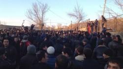 Gümrü'de 13 gösterici gözaltına alındı