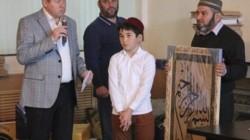 Pyatigorsk'ta çocuklar ve kadınlar arası Kuran okuma yarışması