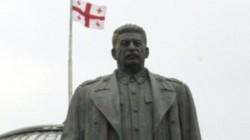 Gürcistan'ın Telavi şehrinde Stalin anıtı dikildi