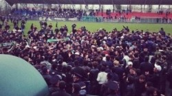 Anguşt- Alanya maçında kavga