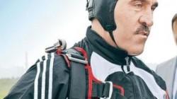 Yevkurov paraşütle atlayışta ayağını burktu