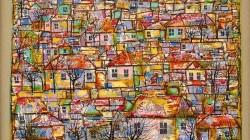 Hollanda'da Oset ressamların sergisi açıldı
