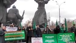 Moskova'daki Çerkes eylemi için yeni başvuru yapıldı