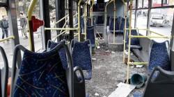 Donetsk'te troleybüse saldırı