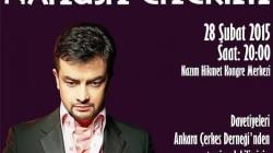 Nehuş Çerim Ankara'da konser verecek