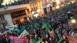 Çerkes Soykırımı Rusya Federasyonu Konsolosluğu Önünde Protesto Edildi