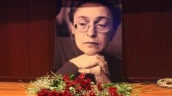 Anna Politkovskaya İstanbul'da anıldı