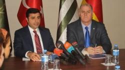 Yaşar Aslankaya Selahattin Demirtaş görüşmesi sona erdi