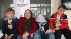 Çeçen kadın ve üç torunu sınır dışı ediliyor