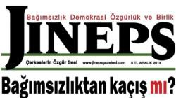 """Jıneps'in bu ayki manşeti: """"Bağımsızlıktan kaçış mı?"""""""