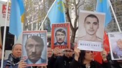 Kırım Tatarları Ankara ve İstanbul'da eylem yaptı
